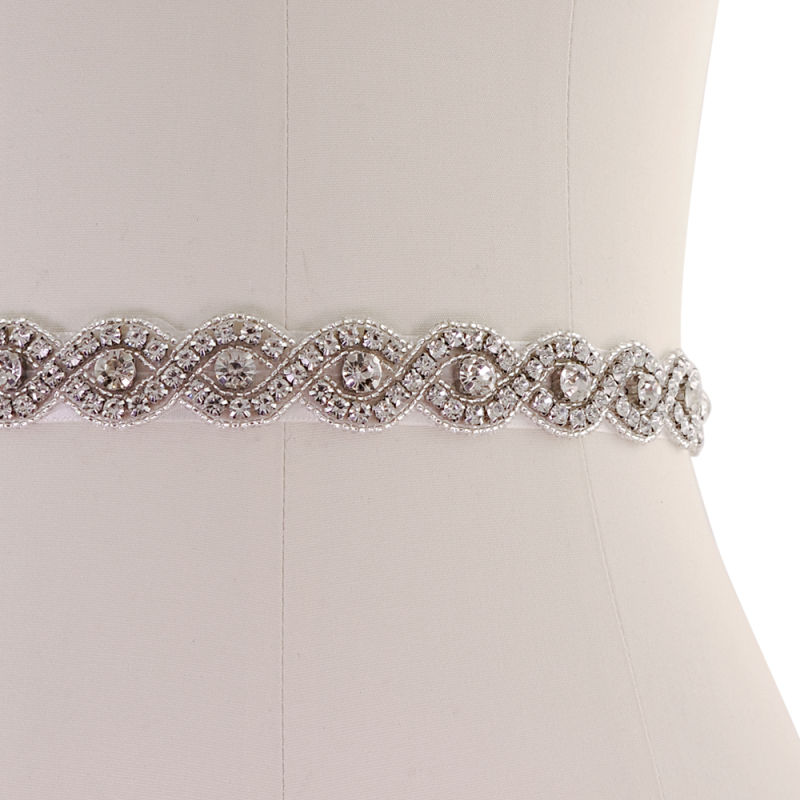 Athena Collection - Vintage Inspired Bridal Belt - Ivory 3