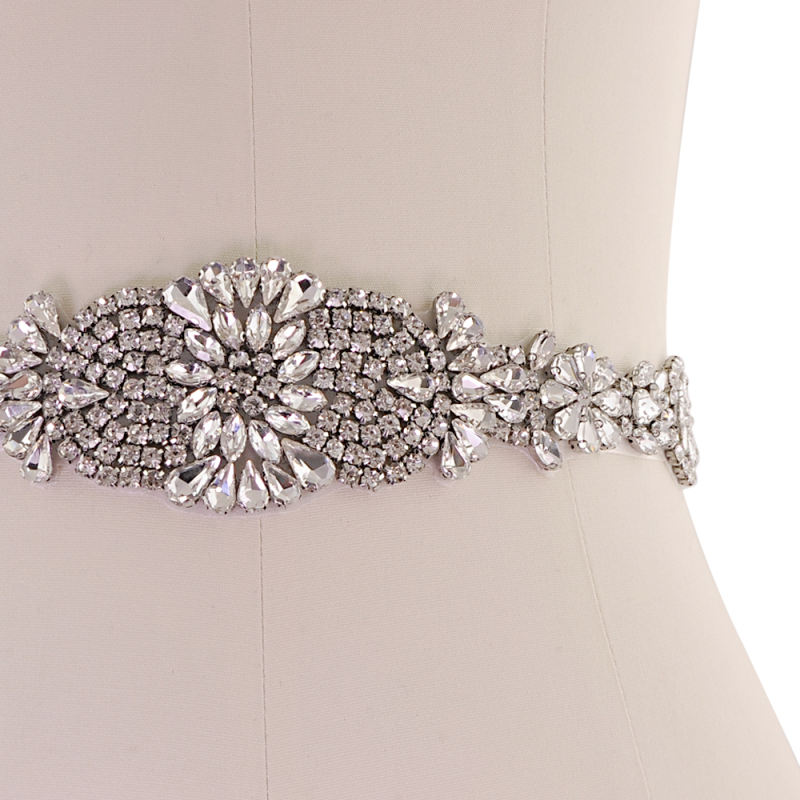 Athena Collection - Exquisite Crystallure Bridal Belt 3