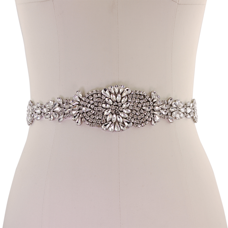 Athena Collection - Exquisite Crystallure Bridal Belt 2