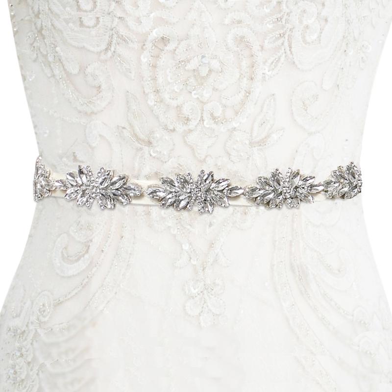 Athena Collection - Starlet Crystal Belt - Ivory 2