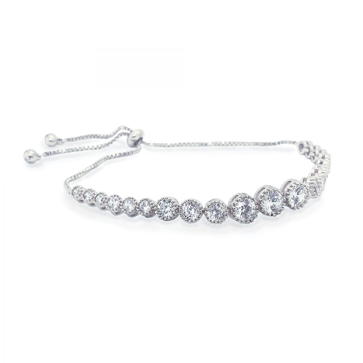 Ivory and Co Marseille Bracelet - Silver 1