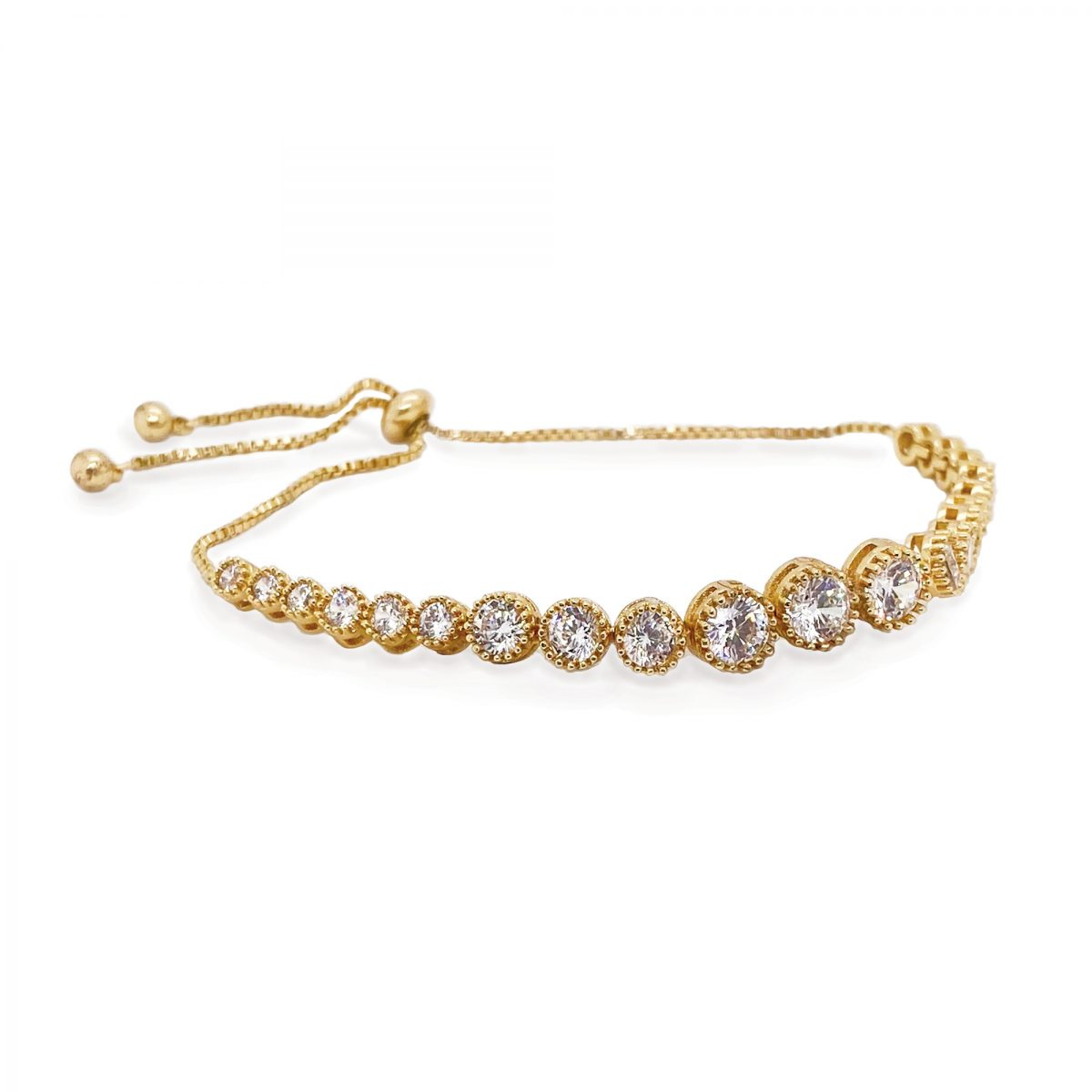 Ivory and Co Marseille Gold Bracelet 1