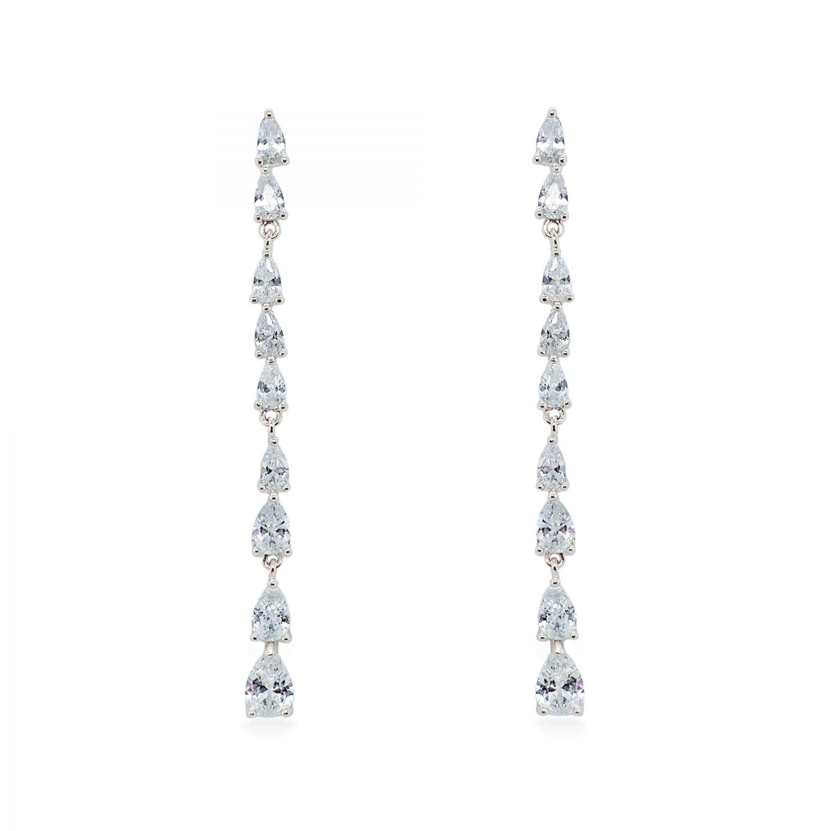Ivory and Co Paris Silver Drop Earrings - Silver 1