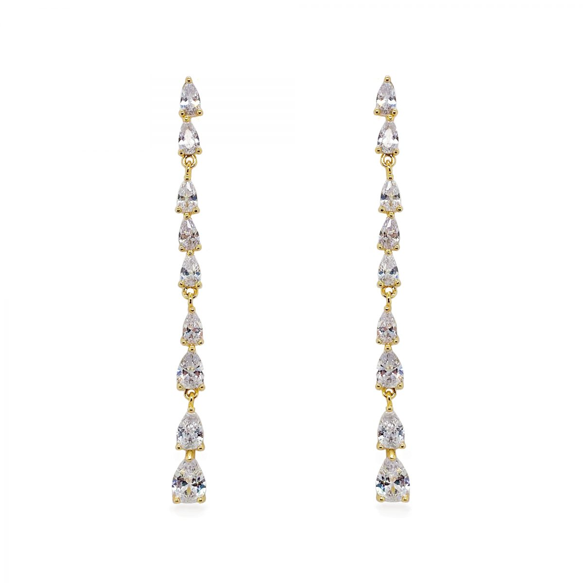 Ivory and Co Paris Gold Drop Earrings - Gold 1