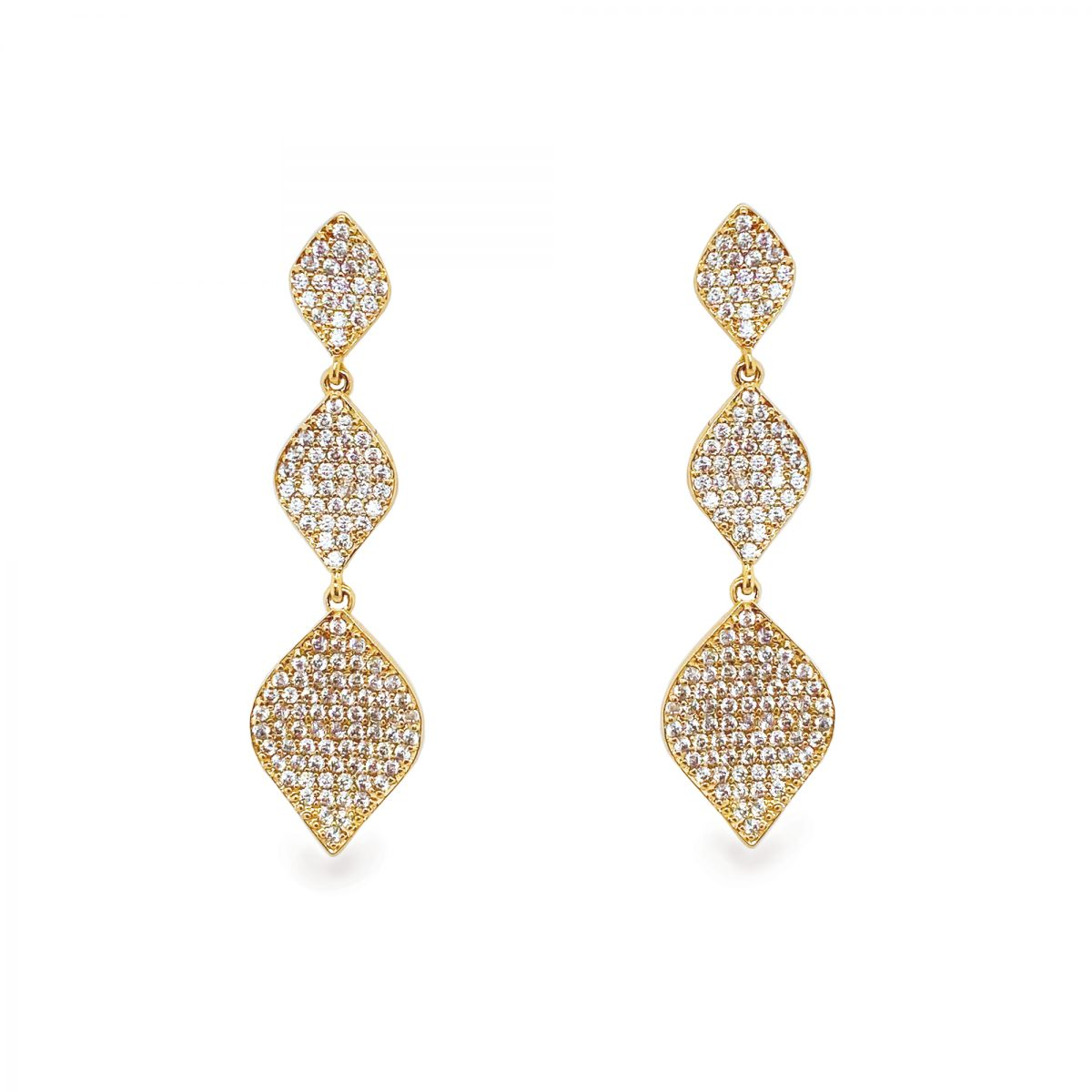 Ivory and Co Rochelle Gold Earrings 1