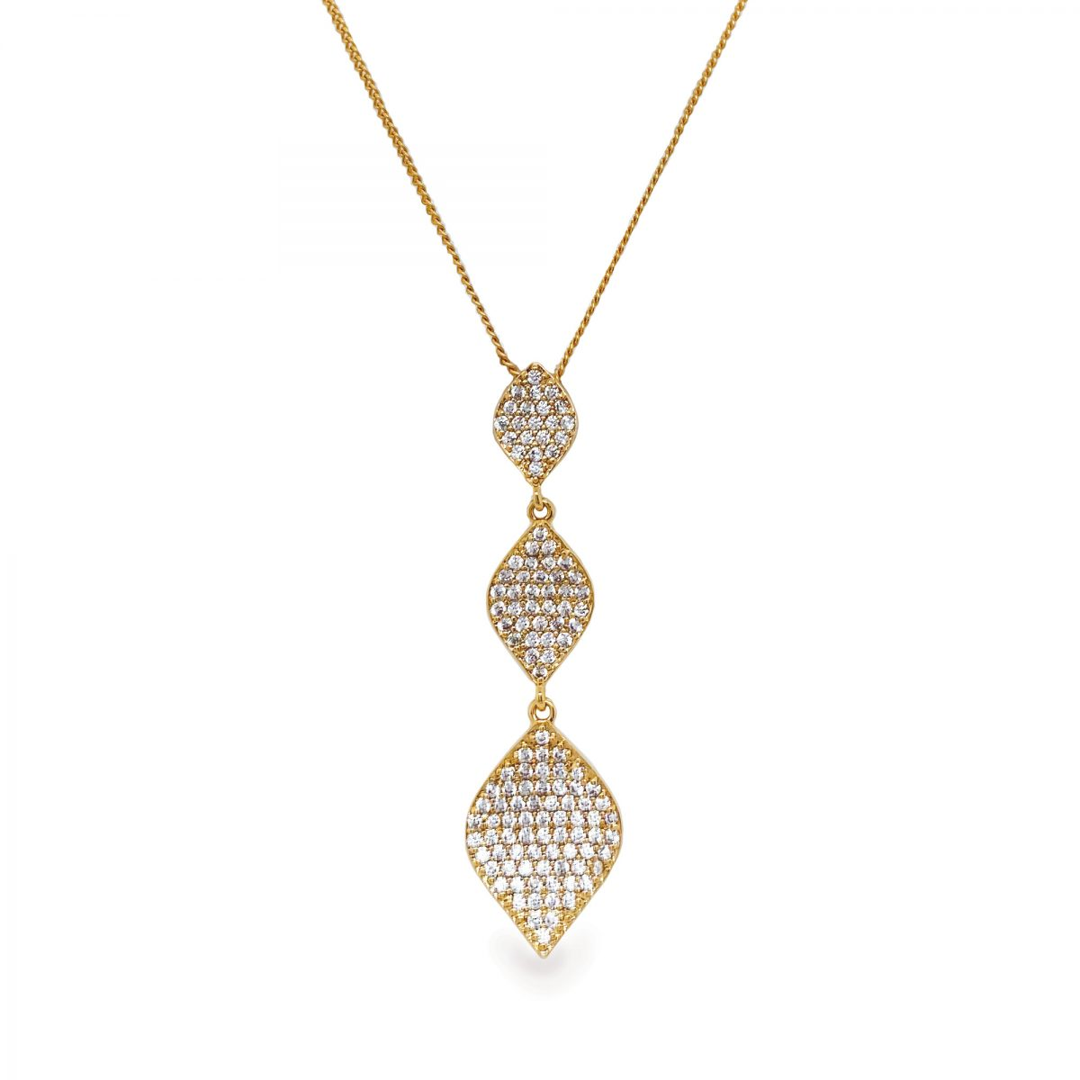 Ivory and Co Rochelle Gold Pendant 1
