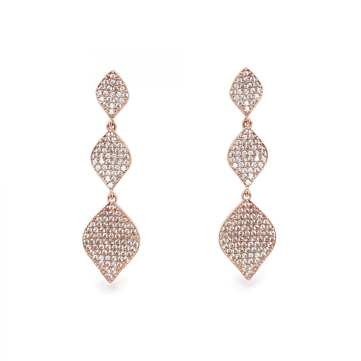 Ivory and Co Rochelle Rose Earrings 1