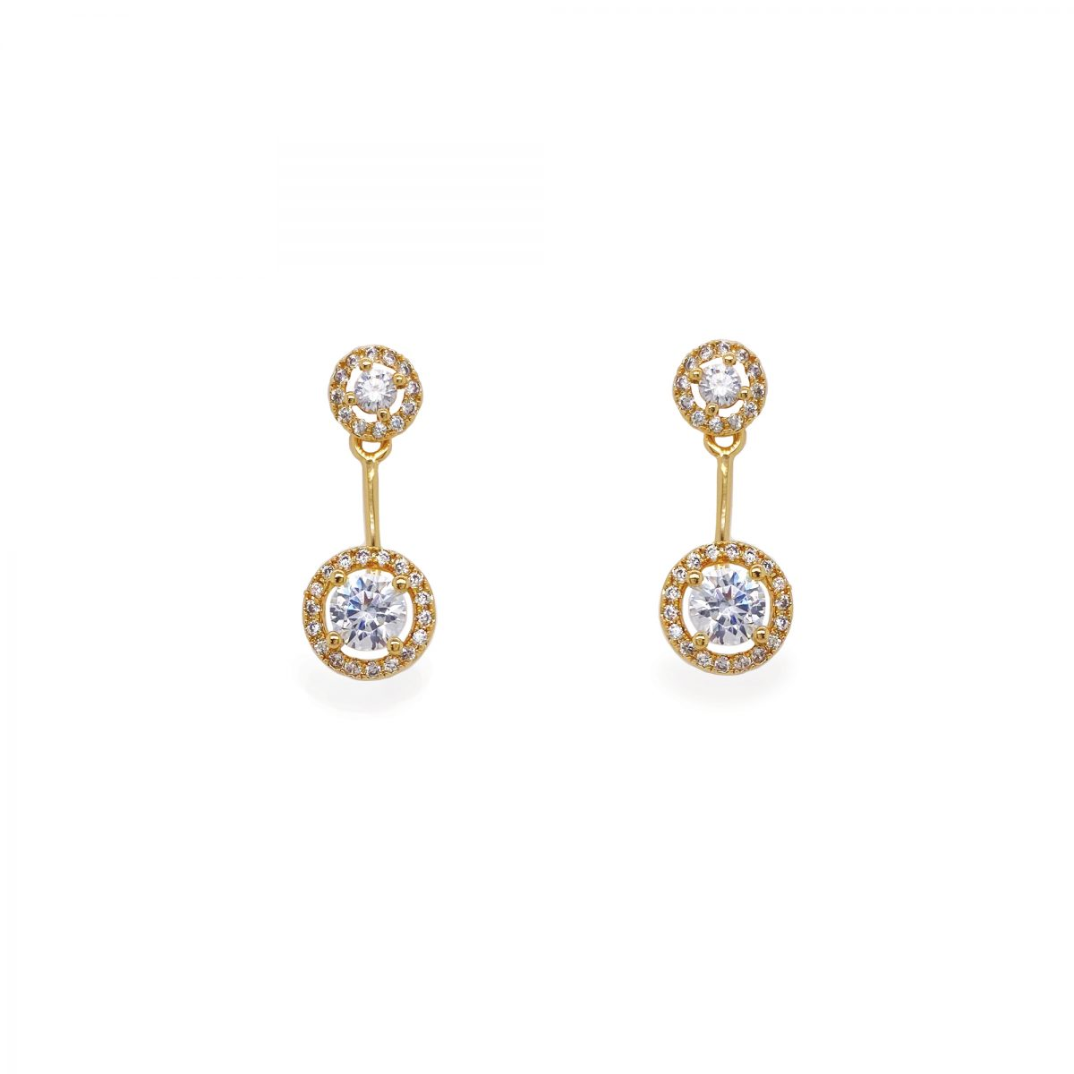Ivory and Co Salisbury Gold Earrings 1