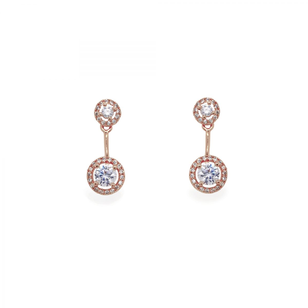 Ivory and Co Salisbury Rose Earrings - 1