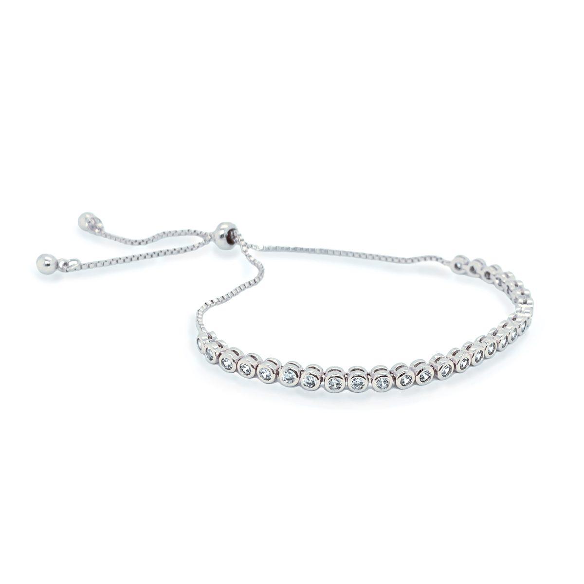 Ivory and Co Tivoli Bracelet - Silver 1