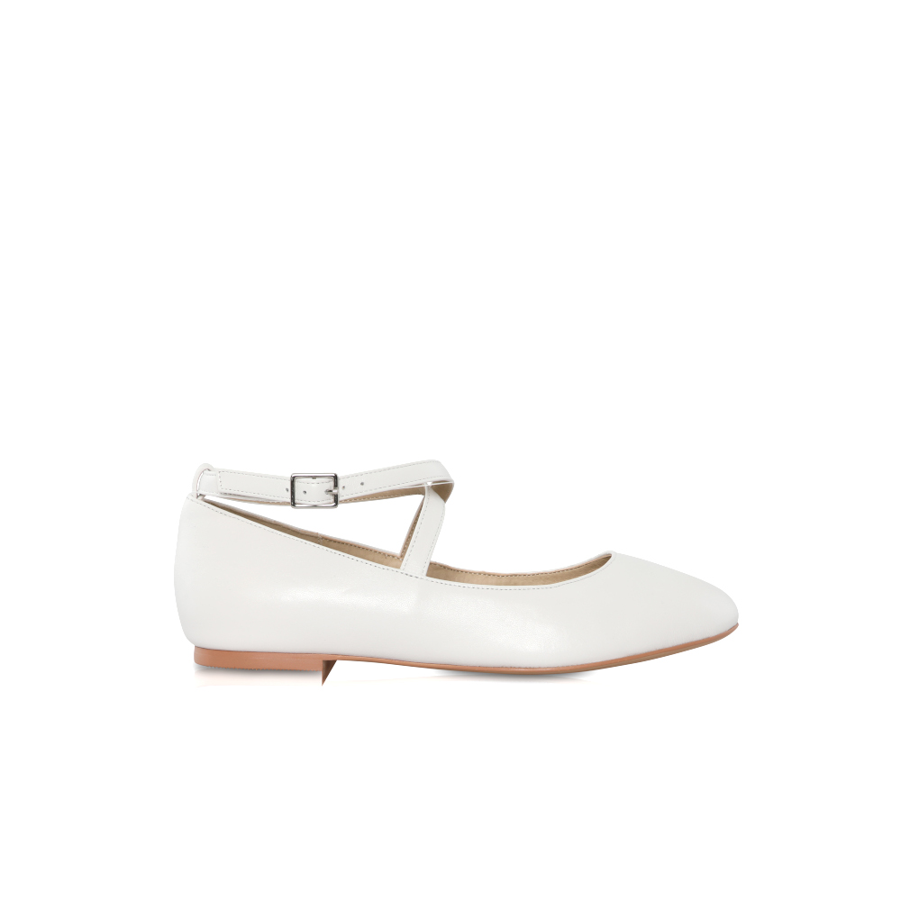 Perfect Bridal Kids - Lena Communion Shoes - White  Patent 1