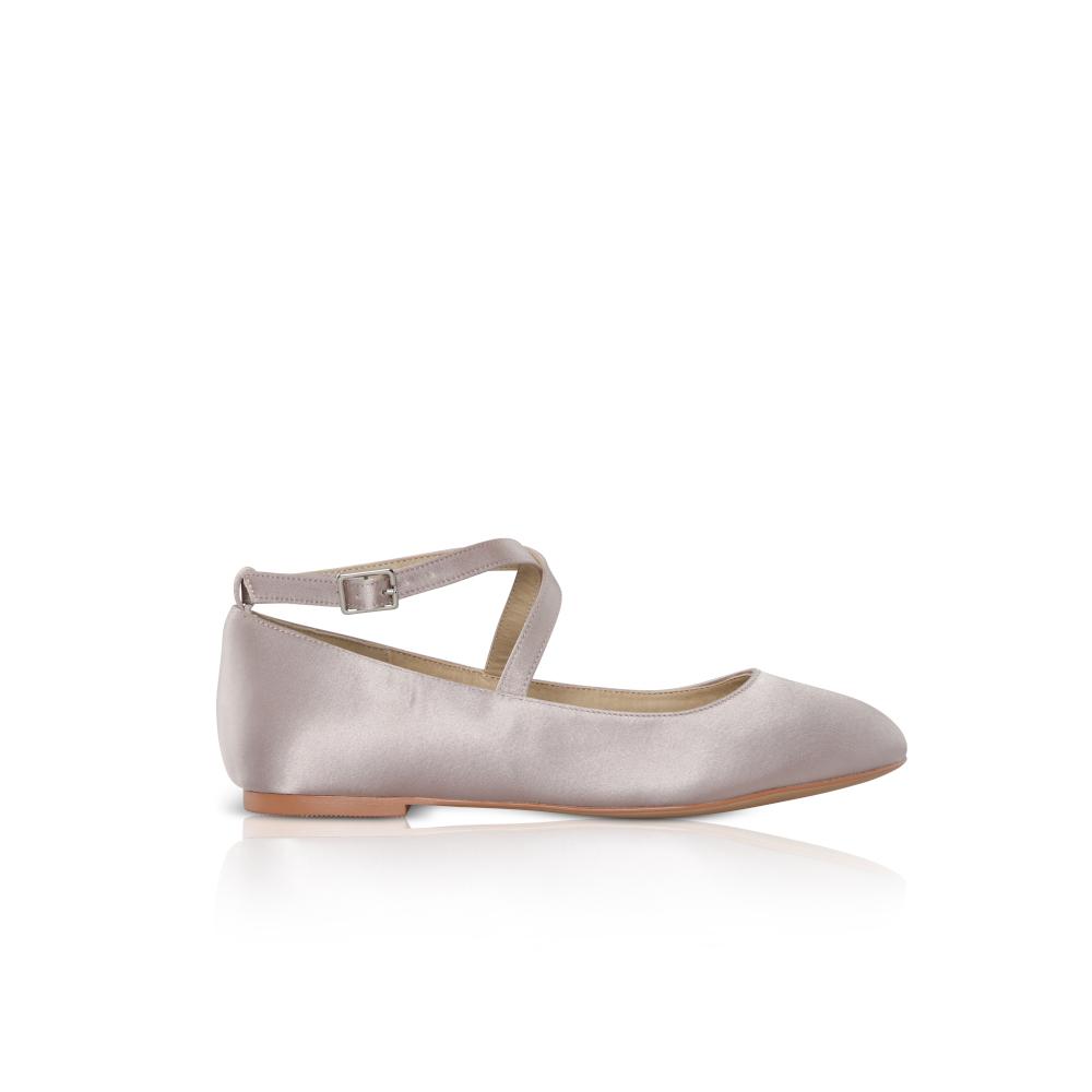 Perfect Bridal Kids - Lena Shoes - Blush Satin 1