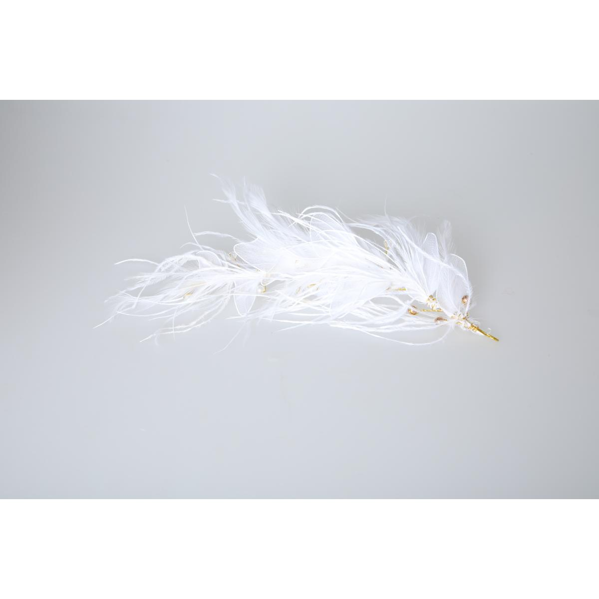 Perfect Bridal PBH7021 Feather Headpiece 3