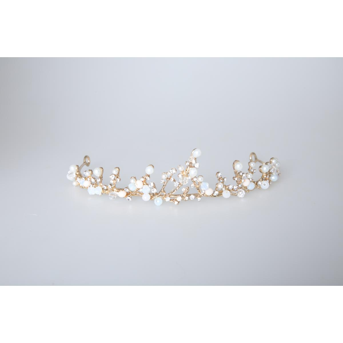 Perfect Bridal Low Crown - PBT5025 - Gold Tone 3