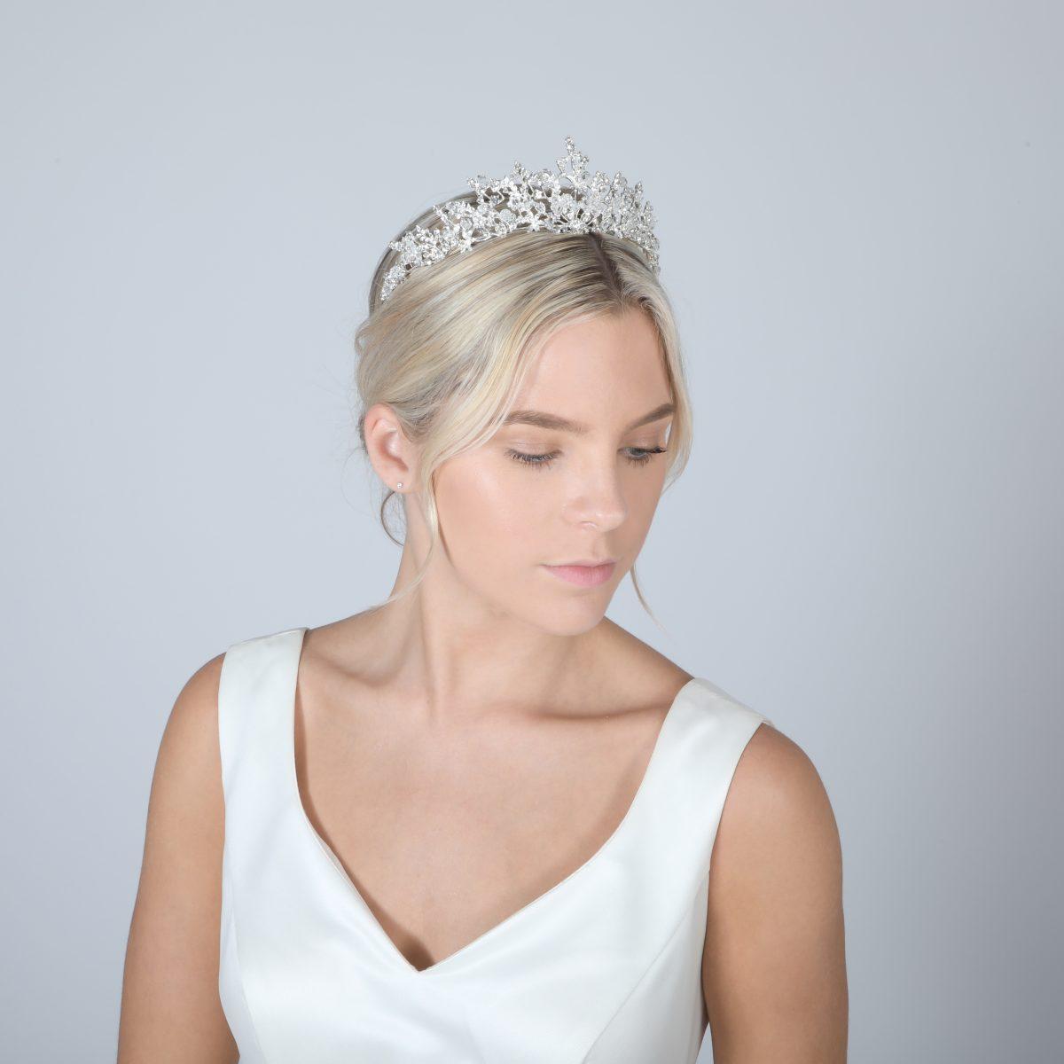Perfect Bridal Tiara - PBT5027 1