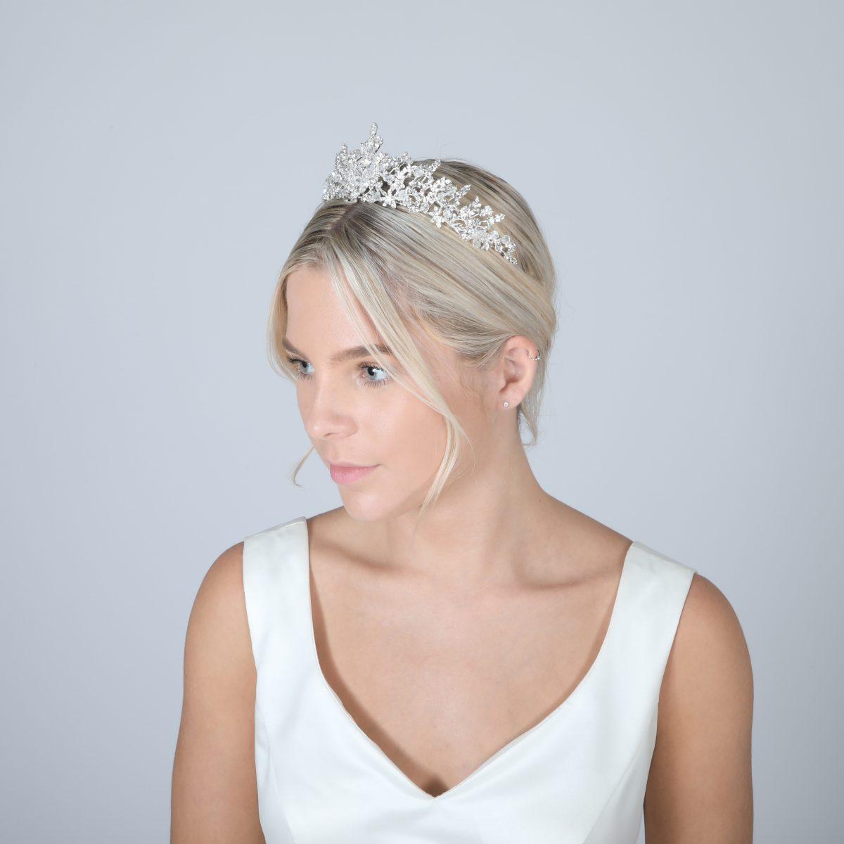 Perfect Bridal Tiara - PBT5027 2