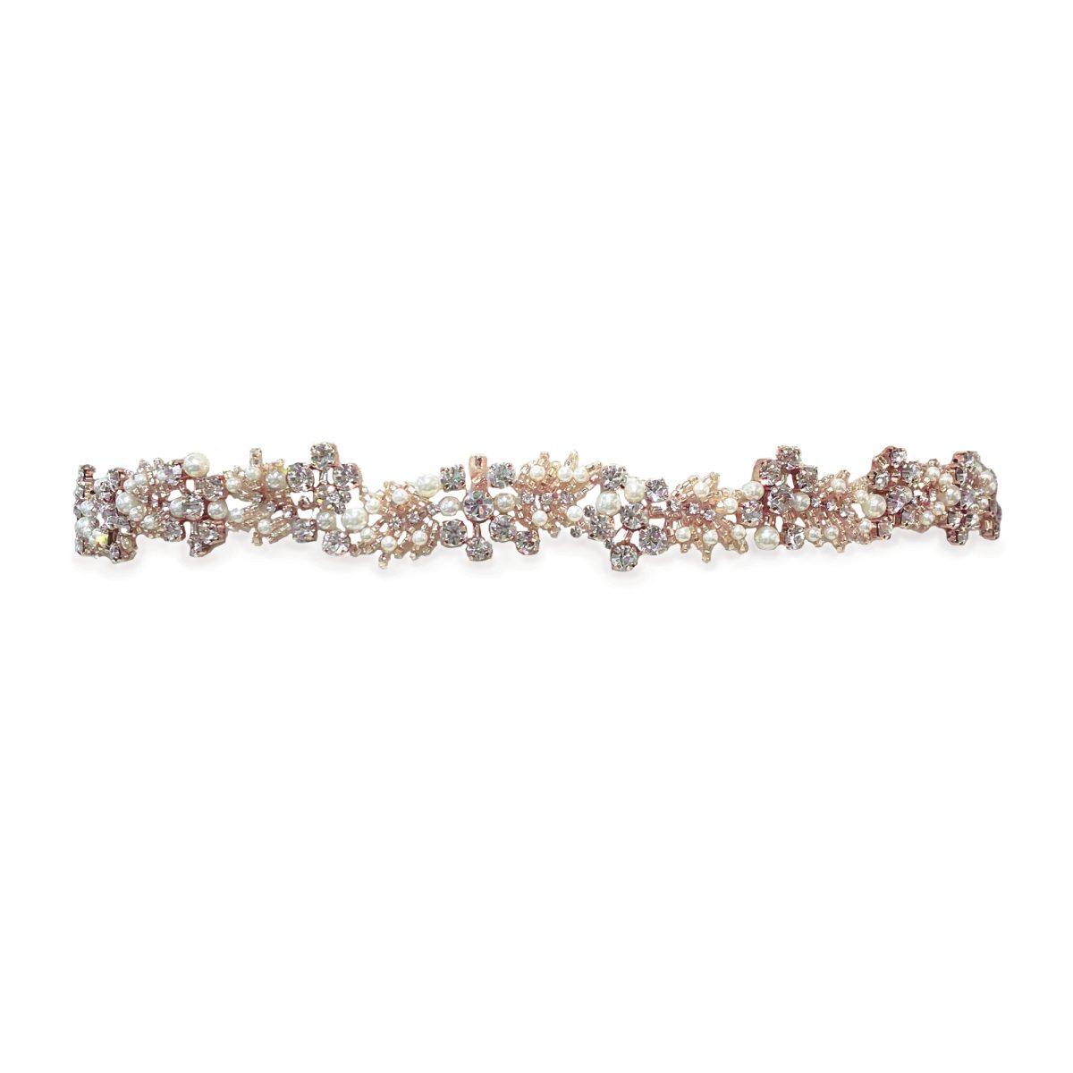 Ivory and Co Rose Cluster Bridal Belt 1