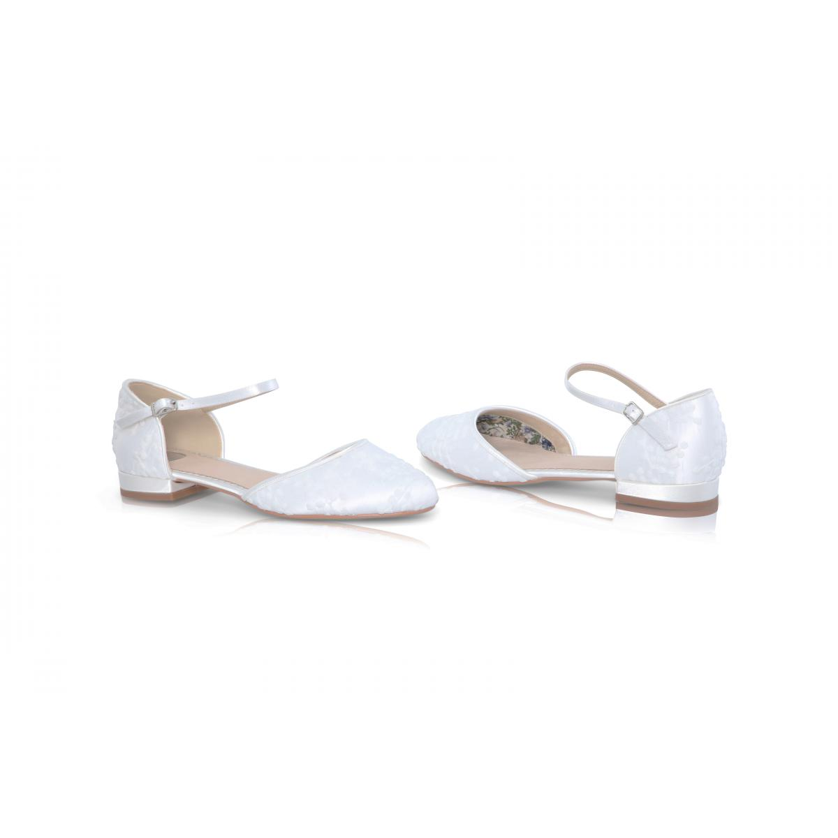 Perfect Bridal Verity Shoes - Ivory Lace 4