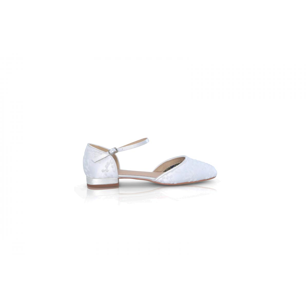 Perfect Bridal Verity Shoes - Ivory Lace 1