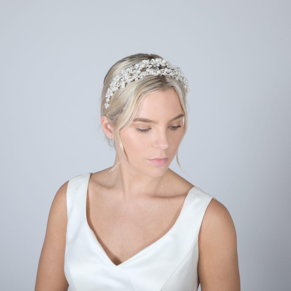 Perfect Bridal Tiara - PBT5023 2