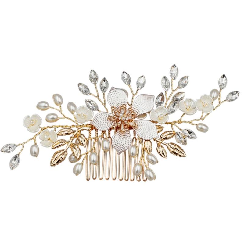 Athena Exquisite Romance Hair Comb - Pink Blush 2