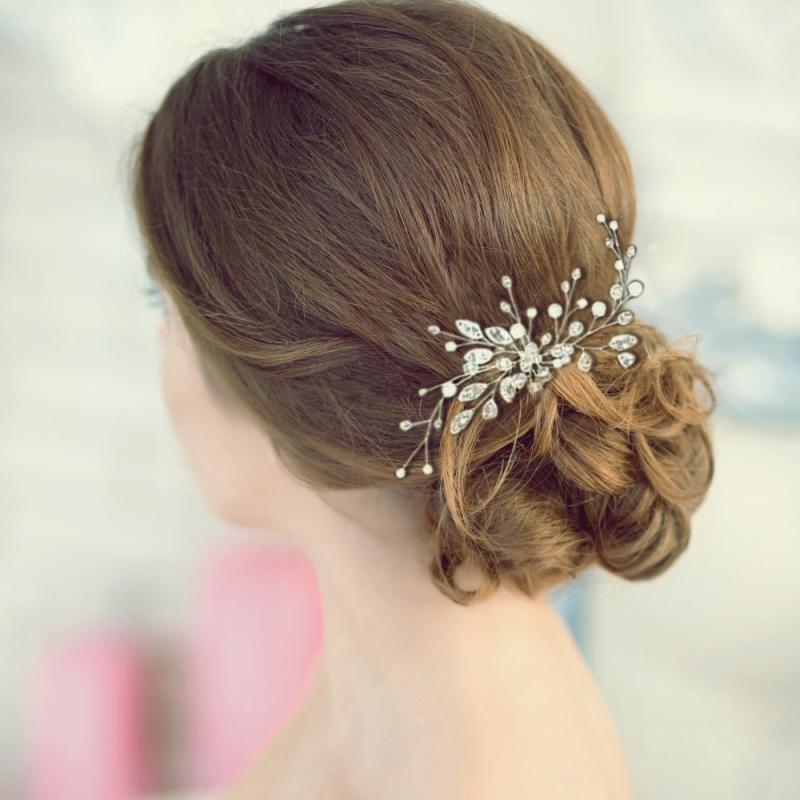 Athena  Crystal Starburst Hairpin 1