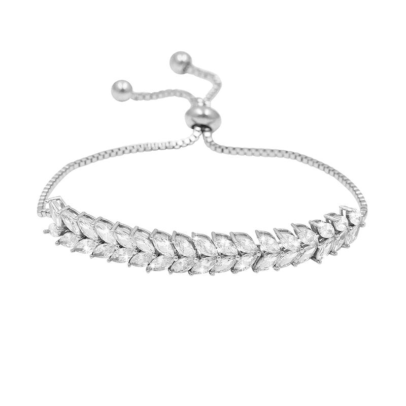 Eternally Crystal Bracelet - Adjustable - Silver 1
