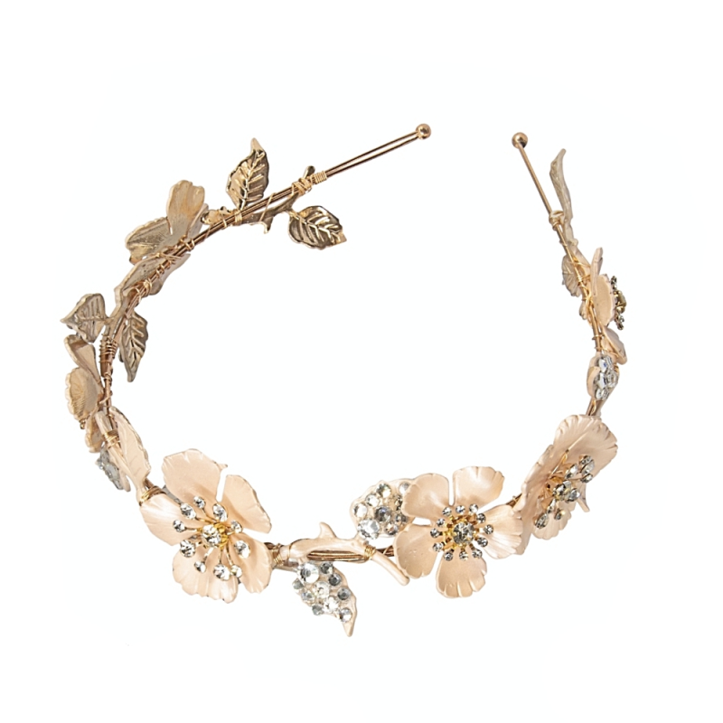 Athena Collection Blush Pink Luxe Headband 3