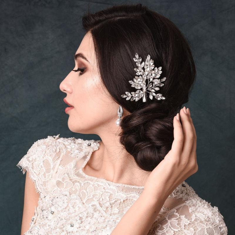 Athena Collection - Crystal Spray Hairclip 3