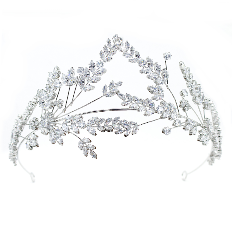 CZ Collection Statement Couture Headpiece 1